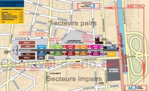 plan du sambodromo rio de janeiro