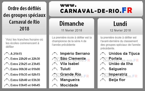 programme carnaval de rio groupe speciaux