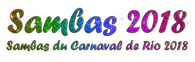 samba du carnaval de rio 2018