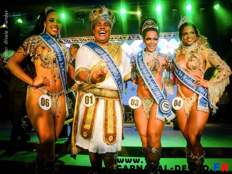 La cour du Carnaval de Rio 2016.
