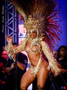 Seconde princesse du Carnaval Rio: Bianca_ Monteiro.