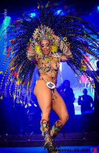Première princesse du Carnaval de Rio 2016