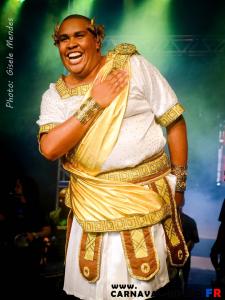 Le roi Momo du Carnaval de Rio 2016: Wilson Dias.