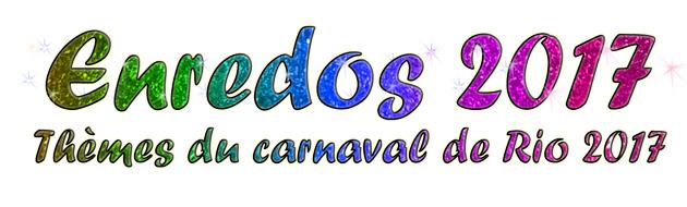theme carnaval de rio 2017