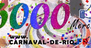facebook carnaval de rio 6000-fans