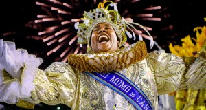 Le roi Momo du Carnaval de rio