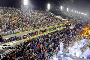 Les loges au Carnaval de Rio