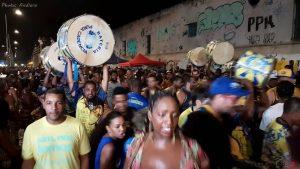 Répétition de rue des écoles de samba
